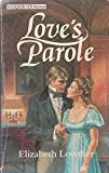 img - for Love's Parole (Masquerade) book / textbook / text book