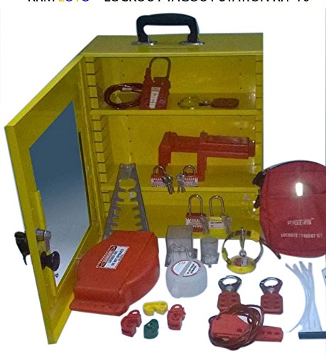Lockout Tagout Station Kit - 10 by LOTO
