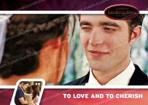 Twilight Breaking Dawn Series 2 Trading Card #18 Edward