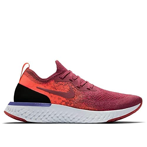 03a649ef51a8d Nike Women s Epic React Flyknit Running Shoes Red  Amazon.co.uk ...