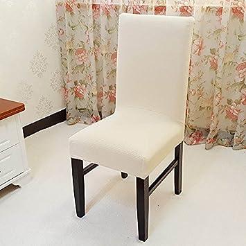 Esszimmer Stuhl Schonbezüge, SindeRay Abnehmbare Elastische Stretch  Slipcovers Esszimmer Stuhl Sitzbezug Dekor (6 Stück