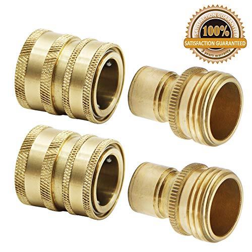 Twinkle Star Garden Hose Brass Quick Connector Set, 2 Pack, TWIS551 ()