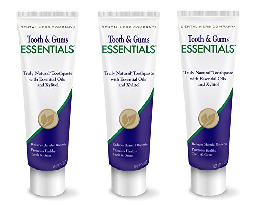 - Dental Herb Company Tooth & Gums NEW Essentials Toothpaste PK-3
