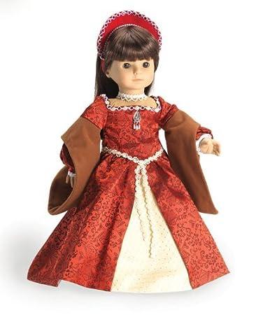 Amazon.com: Ann Boleyn Christmas Dress for American Girl Dolls ...