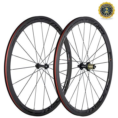 Superteam 23mm Basalt Braking Surface Wheel 38mm Carbon Road 700c Clincher Wheelset