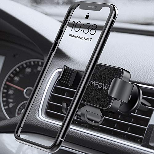 Gravity Phone Holder Mpow Vent Mount Car Gravity Mount Compatible iPhone 11 Pro Max//XS//XR//X//8//7//6 Plus etc 3-Level Adjustable Air Vent Phone Holder