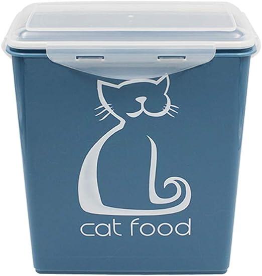 Jlxl Almacenamiento De Comida para Perros, 5.8 L Caja De Almacenamiento En Seco para Alimentos De Cat: Amazon.es: Productos para mascotas