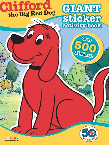 bendon-clifford-the-big-red-dog-giant-sticker-activity-book