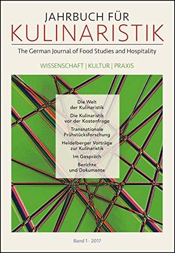 Download Jahrbuch für Kulinaristik, Bd. 1 (2017) pdf