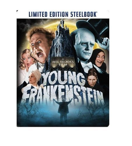 Young Frankenstein 40th Anniversary Limited Edition Steelbook (Blu Ray + Digital HD)