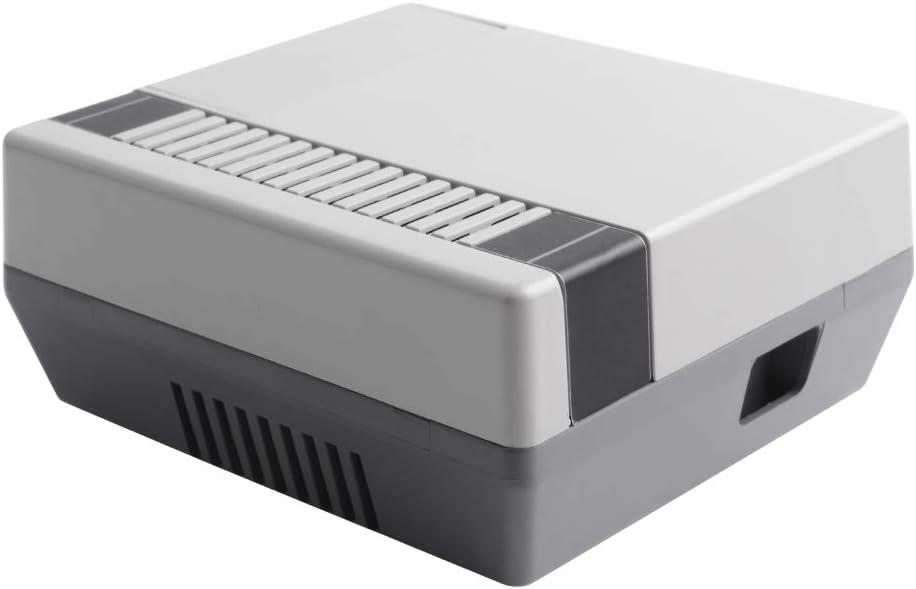 GeeekPi Retro Gaming Bo/îtier Nes3Pi pour Raspberry Pi 3B Bo/îtier avec Ventilateur Raspberry Pi Ventilateur Raspberry Pi Dissipateurs pour Raspberry Pi 2B//3B//3B Raspberry Pi 3B