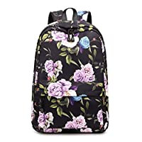 Acmebon Cute School Bags for Girl Women Stylish 15.6 Inches Laptop backpack Travel Backpack