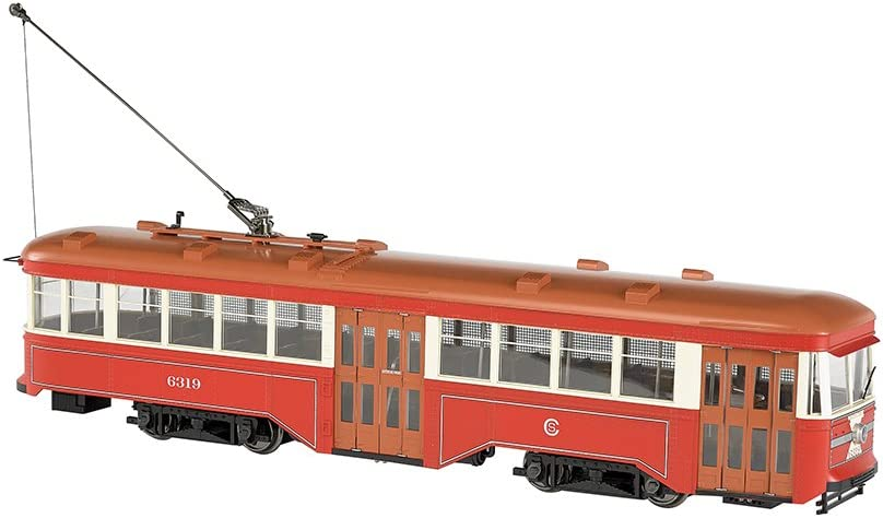 "Bachmann Peter Witt Street Car - Dcc Ready Chicago Surface Lines (1:29 - Large ""G"" Scale)"