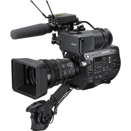 Sony PXW-FS7M2 4K XDCAM Super 35 Camcorder Kit with 18-110mm Zoom Lens Professional Camcorder, Black (PXWFS7M2K)