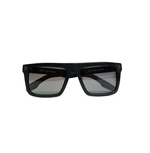 a39b9d9ddf Beast Mode Unisex Sunglasses x IVI Sepulveda Matte Black  Amazon.in   Clothing   Accessories