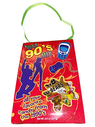 Crystal Temptations Nostalgia Candy Mix! 8 Oz Retro Bag Each! Assorted Vintage Candies! Choose From 60's, 70's, 80's or 90's! All Your Favorite Classic Candy! (90's) (Best Candy From The 90s)