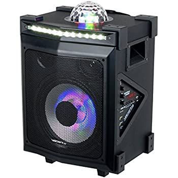 vocopro portable karaoke system lightshow magic musical instruments. Black Bedroom Furniture Sets. Home Design Ideas