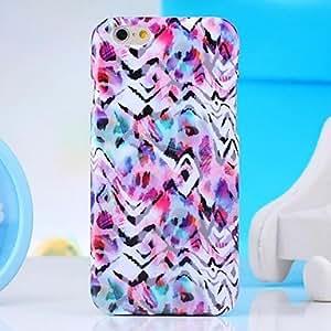 JJE Hi-Q Colorful Graffiti Water Decals Pattern TPU Soft Case for iPhone6