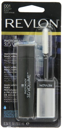 Revlon Mascara Waterproof Blackest Black