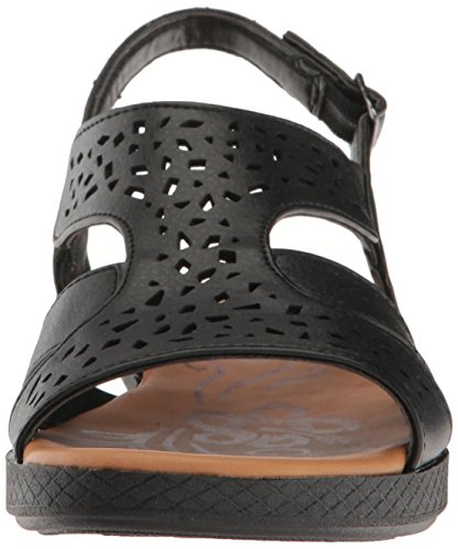 Street Black Flat Bolt Sandal Easy Women's TdgwaqTP