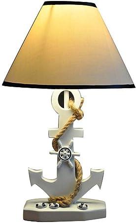 WJMLS Lampe de Table de Style méditerranéen Chambre à