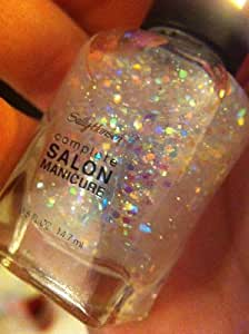 Sally Hansen Complete Salon Manicure Nail Polish, #140 Snow Globe - 0.5 Oz, Pack of 2