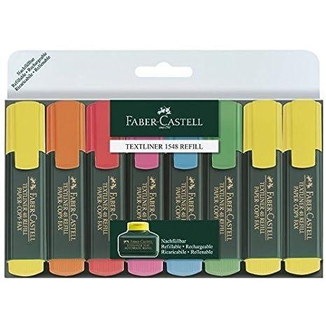 Faber Castell Textliner Refill Subrayadores unidades multicolor