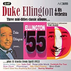 three cool LP s from Duke Ellington recorded in the mid fifties. All three have been expertly re-mastered by our engineers and feature on a mid price double CD. And to add even more value we have included an extra eleven tracks recorded in 19...