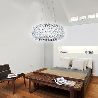 vingo 18w acryl kronleuchter modern wohnzimmer hangeleuchte leuchter pro