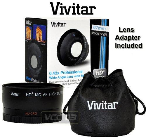VIVITAR Wide Angle 0.43x 67MM HD With MACRO for Nikon Coolpix L120