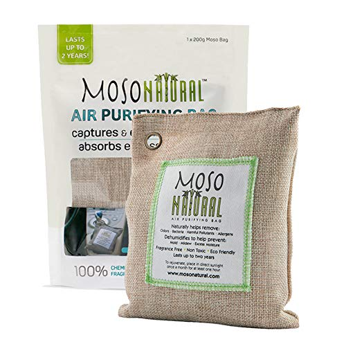 MOSO NATURAL Air Purifying Bag. Bamboo Charcoal Air Freshener