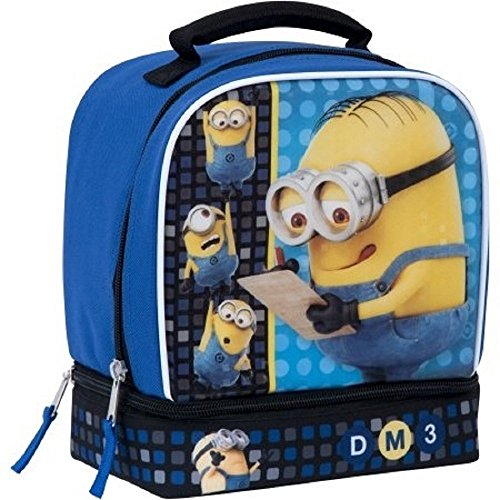 Universal Minions Insulated Dual Compartment Lunch Bag -