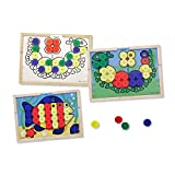 MELISSA & DOUG SORT AND SNAP COLOR MATCH (Set of 6)