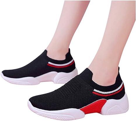 Air Zapatillas de Deportes Mujer Zapatos Deportivos Running Zapatillas para Correr Ligero y con Estilo Zapatillas Deportivas de Mujer Air Cordones Zapatillas de Running Fitness Sneakers: Amazon.es: Jardín