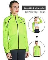 Fastorm Convertible Cycling Jacket Women's...