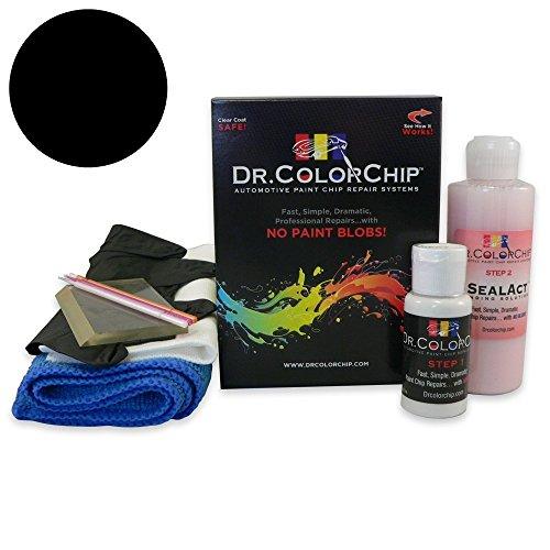 - Dr. ColorChip BMW M6 Automobile Paint - Black Sapphire Metallic 475 - Squirt-n-Squeegee Kit