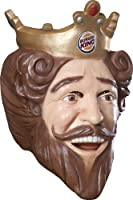 Costume Burger King Deluxe Latex Mask