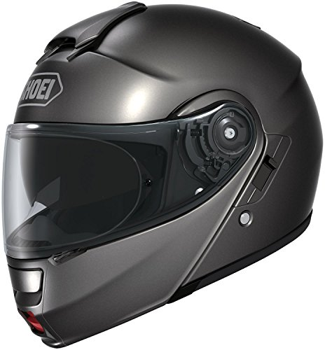 Shoei Unisex Adult Neotec Metallic Anthracite Modular Helmet 0117-0117-07
