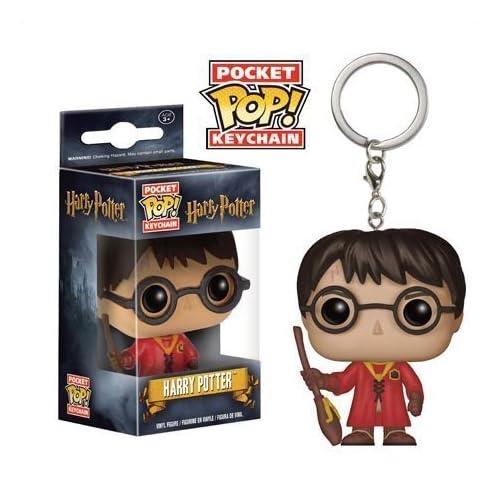 Funko Pocket Pop! Harry Potter in Quidditch Robes Keychain by POCKET POP