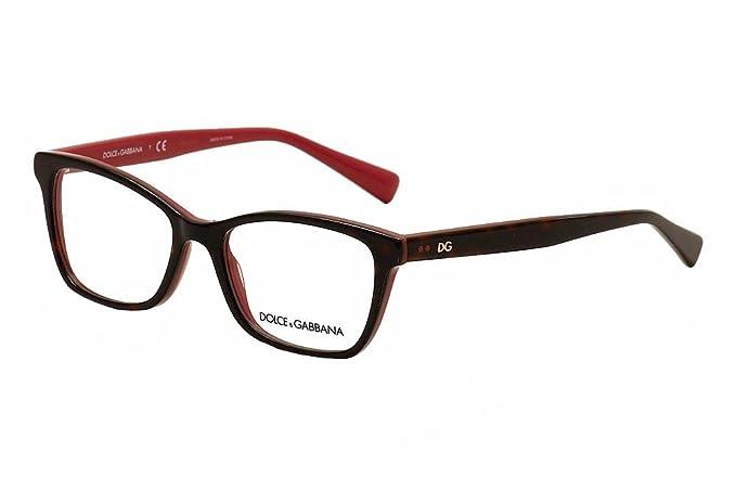 Amazon.com: Dolce & Gabbana dg3245 Lentes de la mujer, 52/17 ...