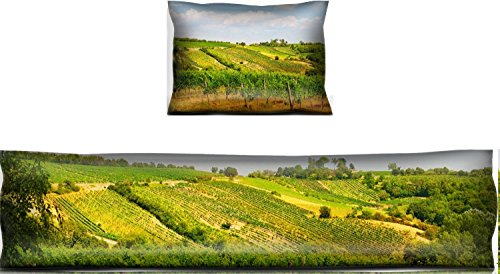 (Luxlady Mouse Wrist Rest and Keyboard Pad Set, 2pc Wrist Support IMAGE ID: 22136824 Viennese green grapes wine yard Vienna Austria)