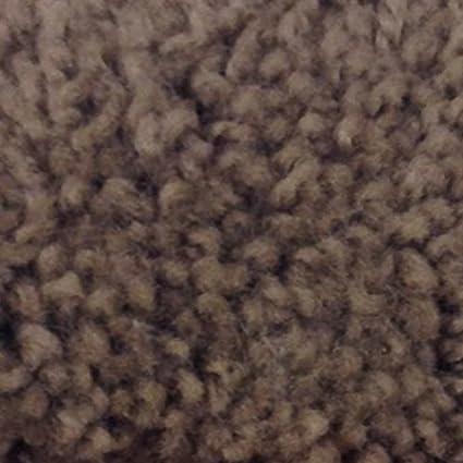 Mohawk Cut To Fit Plush Bath Carpet 5 By 6 Feet, Alamo Brown