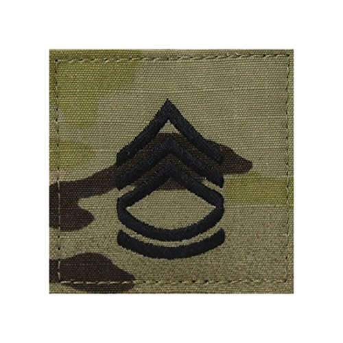 Multicam OCP Rank Insignia With Fastener (SERGEANT FIRST -