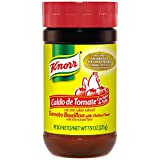 Knorr Hispanic Tomato with Chicken Flavor Bouillon, 7.9 Ounce Jar - 12 per case.