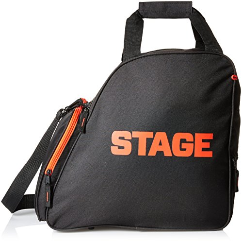 [Stage Deluxe Boot Bag, Black] (Deluxe Black Polyester Gloves)