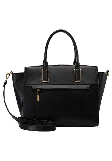 361010178d4cf Anna Field Henkeltasche für Damen - Handtasche mit abnehmbarem  Schulterriemen - Tasche zum Umhängen - Elegante