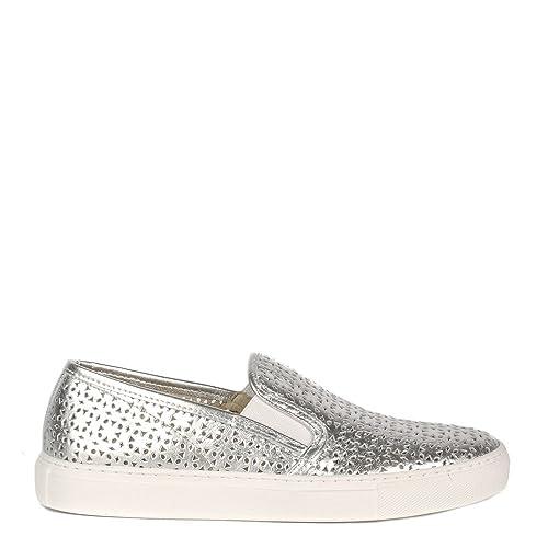 Elia B Zapatos Polo Zapatillas Mujer 41 Plateado: Amazon.es: Zapatos y complementos