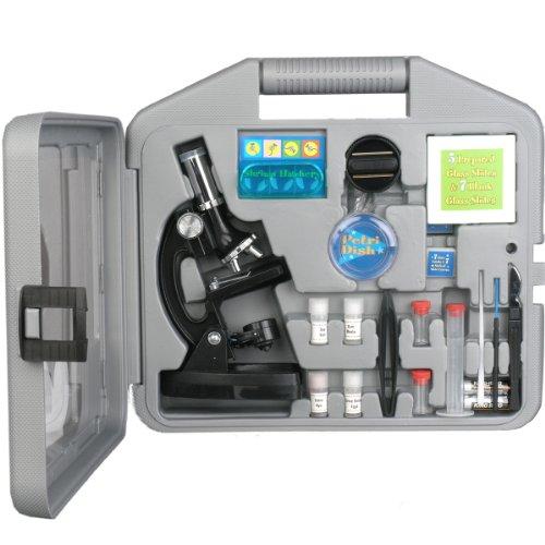 AMSCOPE-KIDS M30-ABS-KT2 Starter Microscope Kit, Metal Frame