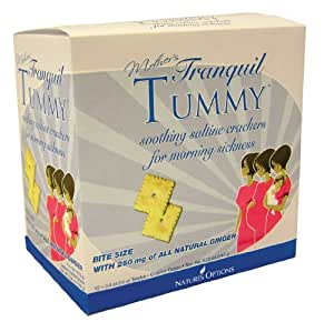 Natures Options Mother's Tranquil Tummy Soothing Saltine Crackers, 12-Count Box
