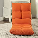 ACME Morris Tangerine Fabric Youth Game Chair
